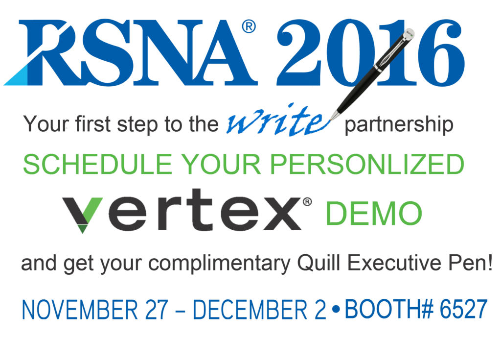 Sorna Vertex at RSNA 2016
